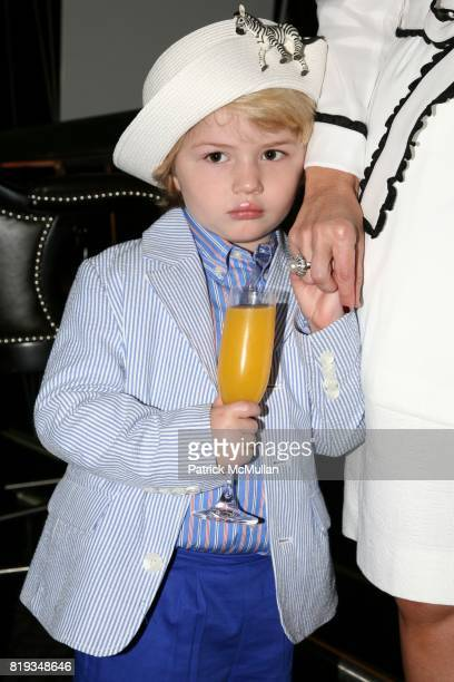 Hudson Heinemann attend MichelleMarie Heinemann and Terri Lindvall's 'Bloody Mary and Belini Hat Party' at Bar Pleiades on May 5th 2010 in New York...
