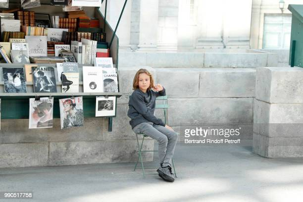 Hudson Kroenig attends the Chanel Haute Couture Fall Winter 2018/2019 show as part of Paris Fashion Week on July 3 2018 in Paris France