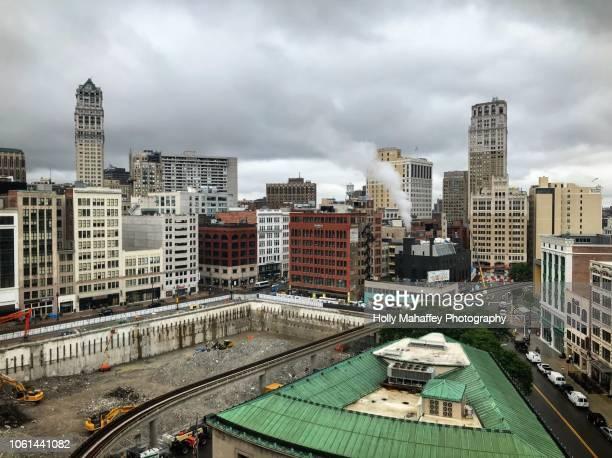 Hudson site downtown Detroit