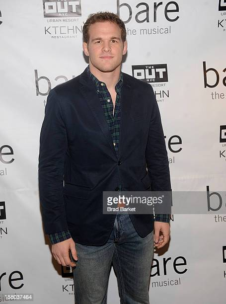 Hudson Taylor attends BARE The Musical Opening Night at New World Stages on December 9 2012 in New York City