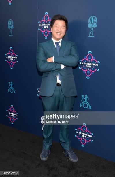 Hudson Yang attends the 20th Century Fox 2018 LA Screenings Gala at Fox Studio Lot on May 24 2018 in Century City California