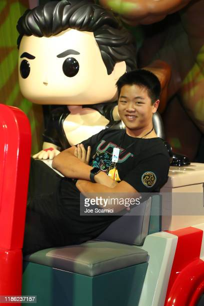 Hudson Yang attends the Funko Hollywood VIP Preview Event at Funko Hollywood on November 07 2019 in Hollywood California