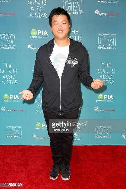 "Hudson Yang attends the Special Screening of Warner Bros ""The Sun Is Also A Star"" at Westfield Century City AMC on May 13, 2019 in Los Angeles,..."