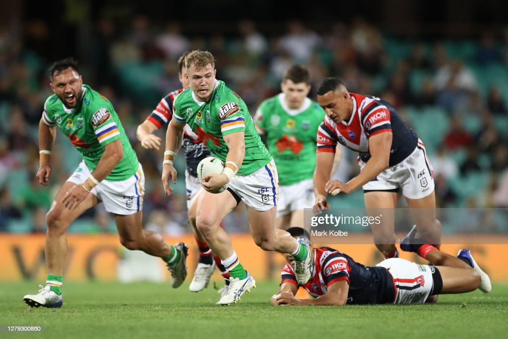 NRL Semi Final - Roosters v Raiders : News Photo
