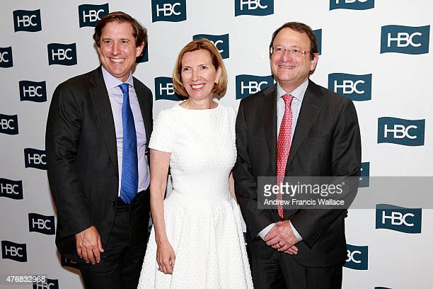 Hudson's Bay Company Governor and Executive Chairman Richard Baker Liz Rodbell president of Hudson's Bay department stores and Hudson's Bay Company...