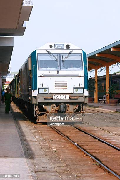 hue railway station - gwengoat stock pictures, royalty-free photos & images