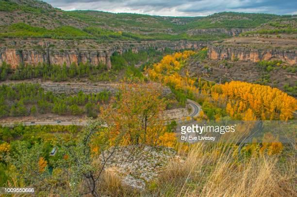 huecar gorge - cuenca provincia de cuenca fotografías e imágenes de stock