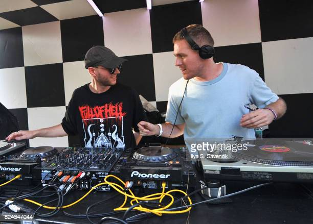 Huerco S and Anthony Naples performs on The Points stage during the 2017 Panorama Music Festival Day 2 at Randall's Island on July 29 2017 in New...