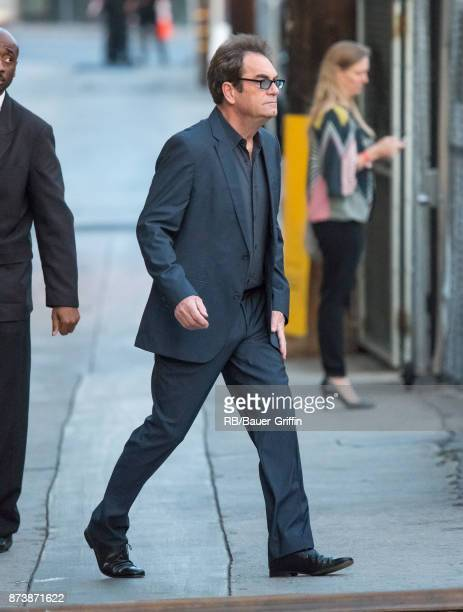 Huey Lewis is seen at 'Jimmy Kimmel Live' on November 13 2017 in Los Angeles California