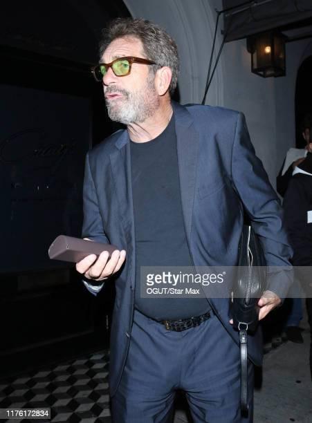 Huey Lewis is seen on October 15 2019 in Los Angeles California