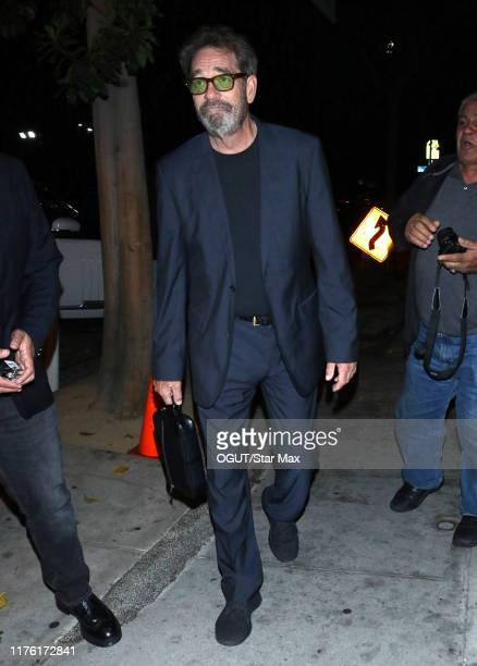 Huey Lewis is seen on October 15 2019 in Los Angeles California