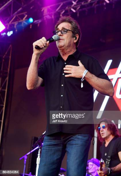 Huey Lewis of Huey Lewis and the News performs at Camelback Stage during day 2 of the 2017 Lost Lake Festival on October 21 2017 in Phoenix Arizona