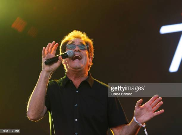 Huey Lewis of Huey Lewis and The News performs at the Lost Lake Music Festival on October 21 2017 in Phoenix Arizona
