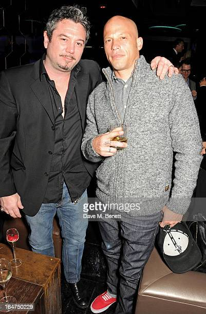 Huey Morgan and Ami James attend the launch of new club Libertine on March 27 2013 in London England