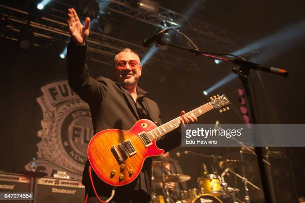 Huey Morgan of the Fun Lovin' Criminals performs at Electric Brixton on March 2 2017 in London England