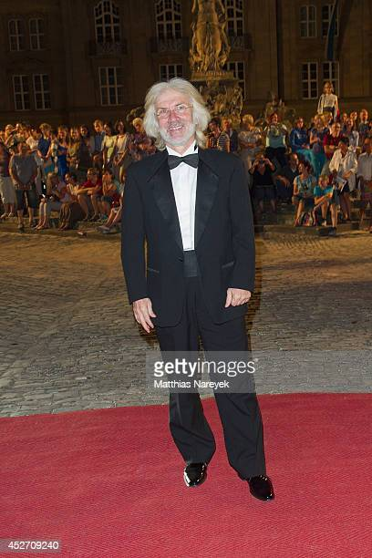 Hueysin Avni attends the Bayreuth Festival Opening State Banquet on July 25 2014 in Bayreuth Germany