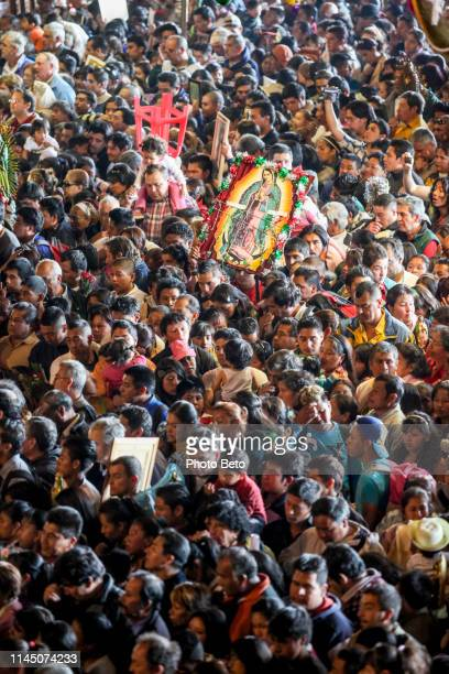 mexico - virgin of guadalupe - pilgrims mass - religious mass stock pictures, royalty-free photos & images