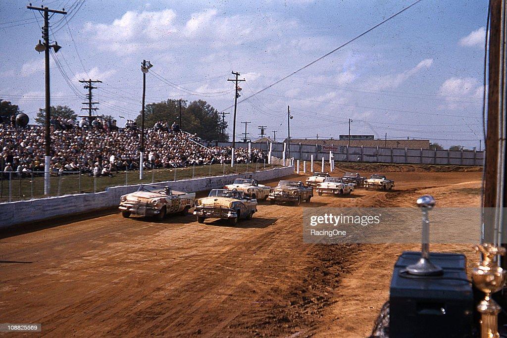 NASCAR Convertibles at Greensboro : News Photo