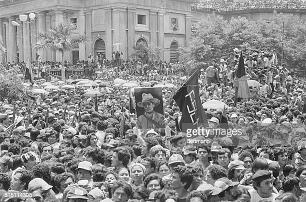 Huge Crowds Celebrate Sandanista Triumph in Managua