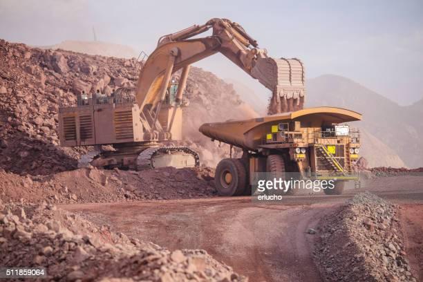 Große Excavator.  Bergbau