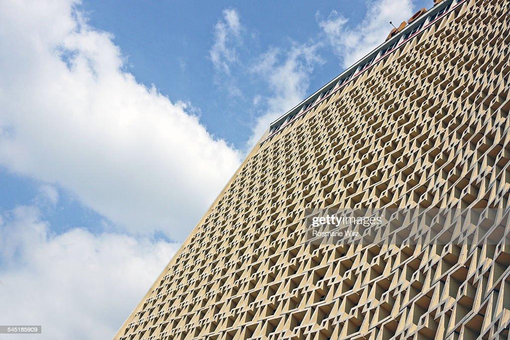 Huge facade : Stock Photo