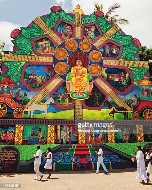 CONTENT] Huge pandal in Colombo city Sri Lanka for the Vesak festival