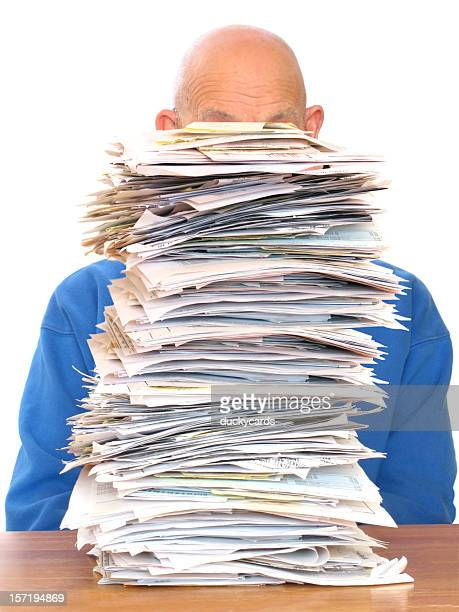 Huge Pile of Paperwork