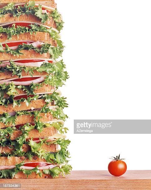 Huge sandwich