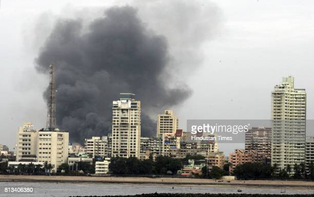 Huge Smoke and Fire at Dadar
