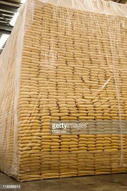 huge stack of sacks - ogphoto stock pictures, royalty-free photos & images