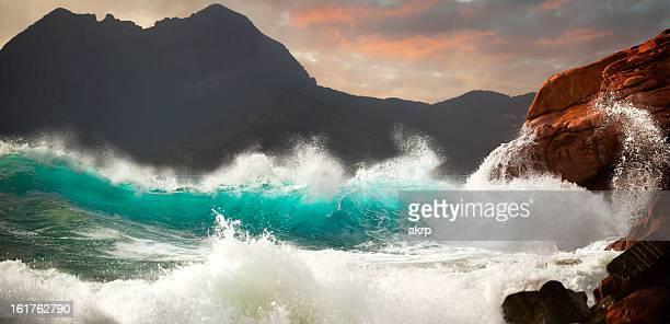Huge Storm Surf