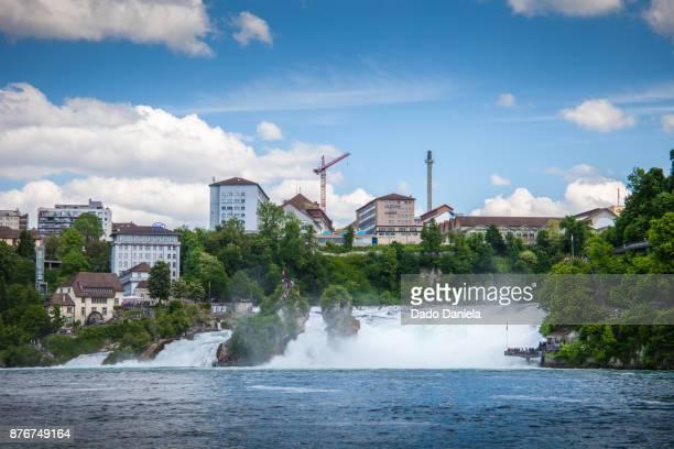 Huge Waterfall at Schaffhausen
