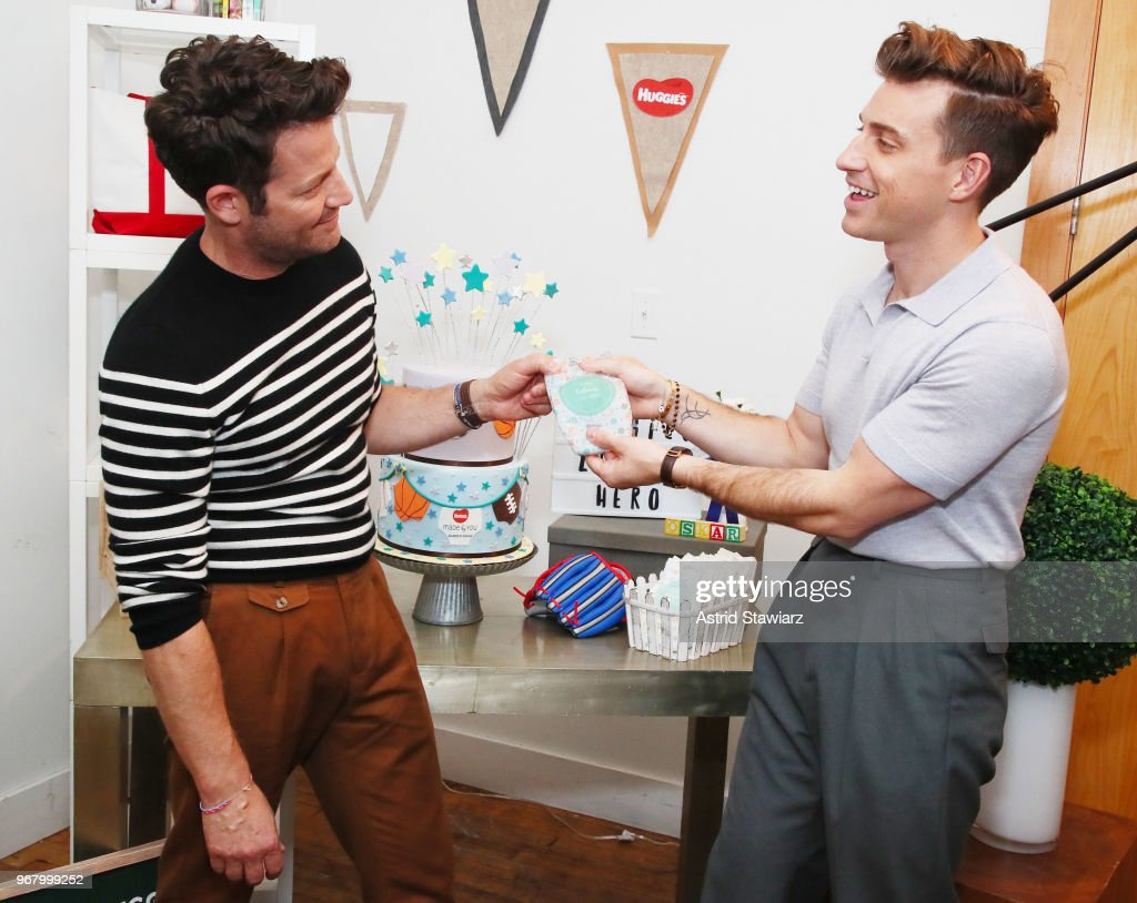 Huggies Made by You launches its first-ever personalized diaper with fashion-inspired diaper collections at a baby celebration for interior designers and husbands Nate Berkus and Jeremiah Brent as they celebrate the newest addition to their family Ð Oskar Brent-Berkus. Available exclusively online at HuggiesMadeByYou.com.