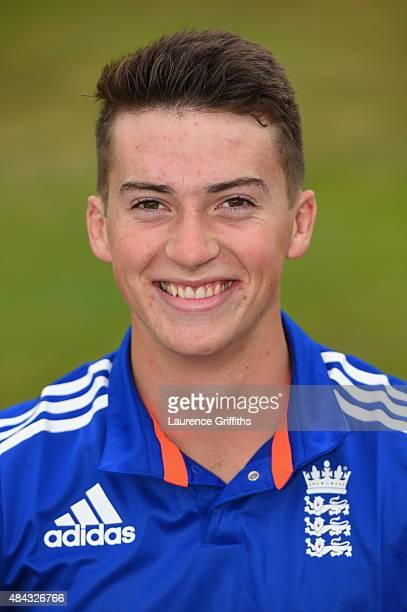 Hugh Bernard of England poses for a portrait prior to the U19 One Day International match between England U19 and Australia U19 at The County Ground...