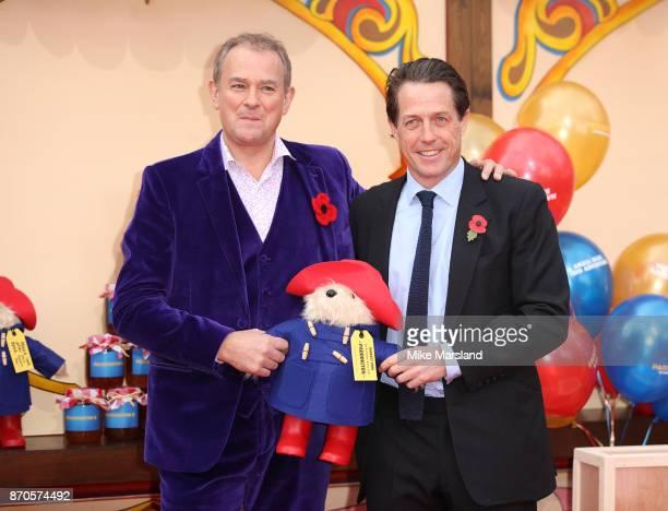 Hugh Bonneville and Hugh Grant attend the 'Paddington 2' premeire at BFI Southbank on November 5 2017 in London England