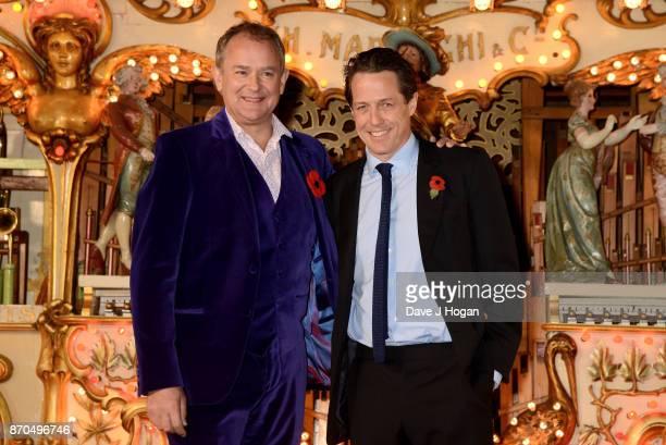 Hugh Bonneville and Hugh Grant attend the 'Paddington 2' premiere at BFI Southbank on November 5 2017 in London England