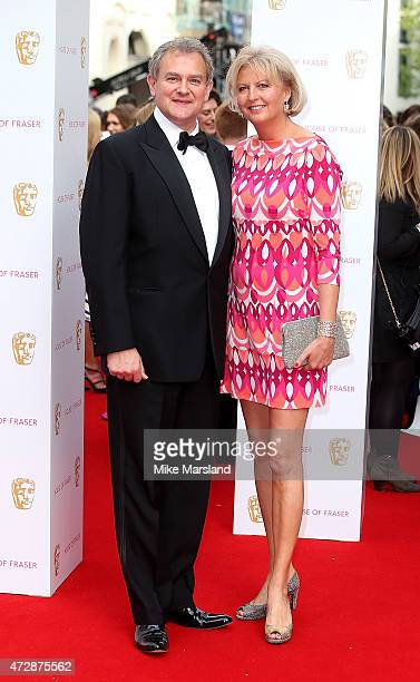 Hugh Bonneville and Lulu Williams attend the House of Fraser British Academy Television Awards at Theatre Royal on May 10 2015 in London England