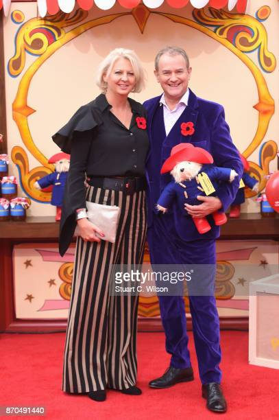 Hugh Bonneville and Lulu Williams attend the 'Paddington 2' premiere at BFI Southbank on November 5 2017 in London England