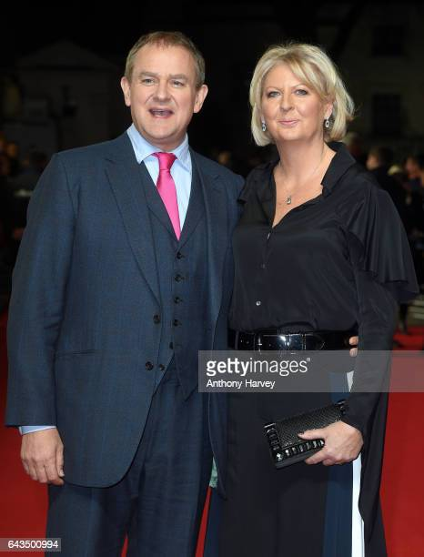 Hugh Bonneville and Lulu Williams attend the 'Viceroy's House' UK Premiere on February 21 2017 in London United Kingdom