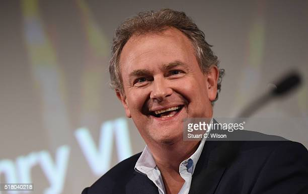 Hugh Bonneville answers questions during a QA folllowing 'The Hollow Crown The Wars of the Roses Henry VI' Preview Screening at BFI Southbank on...