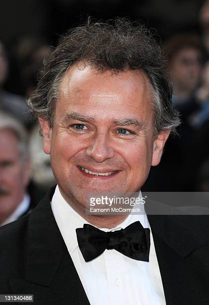 Hugh Bonneville arrives on the red carpet for The Philips British Academy Television Awards at Grosvenor House on May 22 2011 in London England