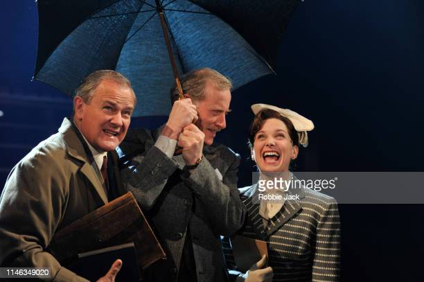Hugh Bonneville as CS Lewis Andrew Havill as Warnie and Liz White as Joy Greshamin William Nicholson's Shadowlands directed by Rachel Kavanaugh at...