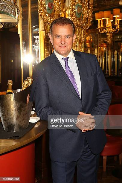 Hugh Bonneville attends A Musical Soiree The Academy Of St Martin In The Fields at Hotel Cafe Royal on November 10 2015 in London England