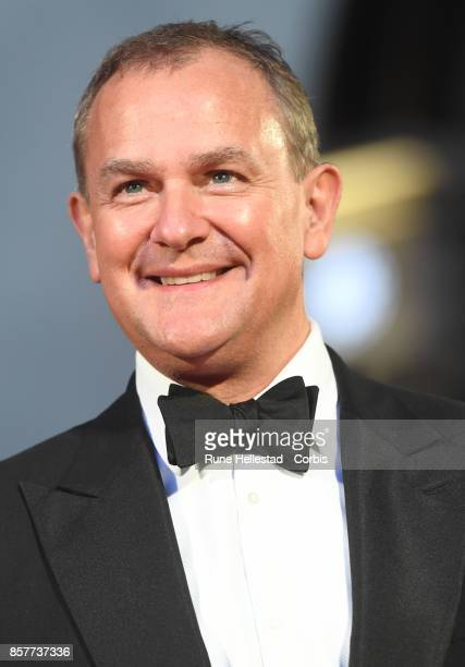 Hugh Bonneville attends the Breathe premiere during the BFI London Film Festival at Odeon Leicester Square London England