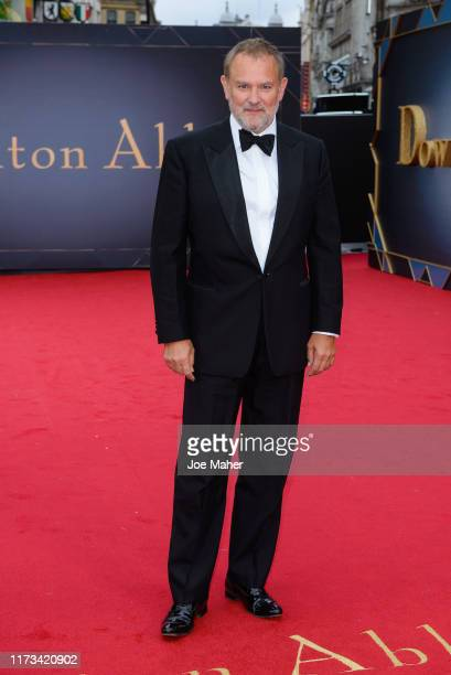 """Hugh Bonneville attends the """"Downton Abbey"""" World Premiere at Cineworld Leicester Square on September 09, 2019 in London, England."""
