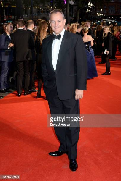 Hugh Bonneville attends the European Premiere of 'Breathe' on the opening night gala of the 61st BFI London Film Festival on October 4 2017 in London...