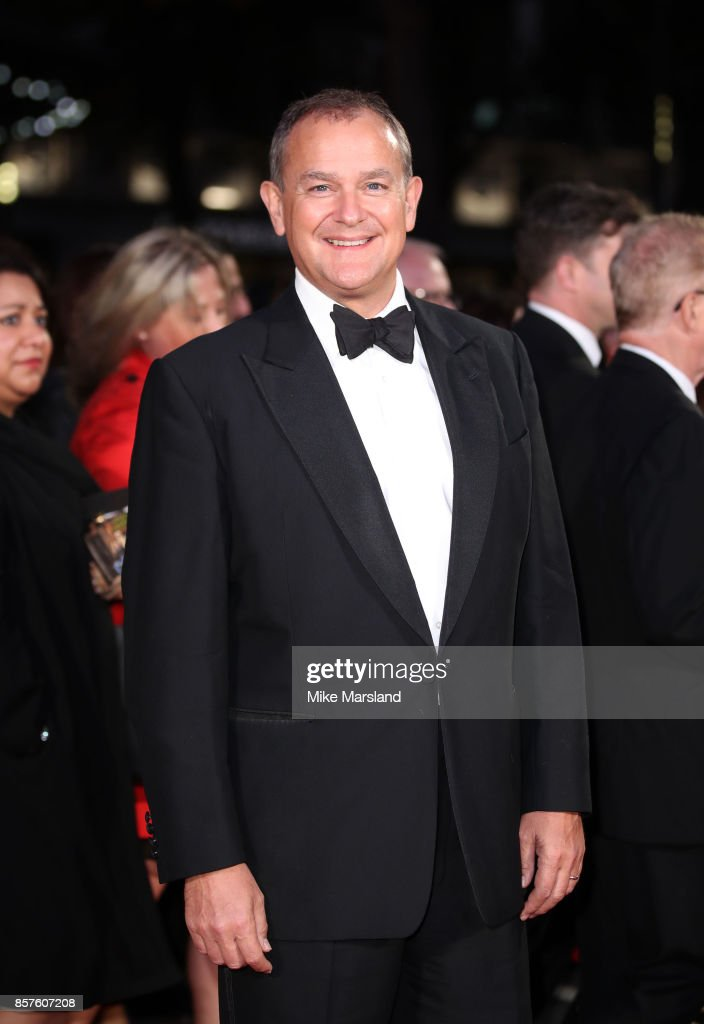 Hugh Bonneville attends the European Premiere of 'Breathe' on the opening night gala of the 61st BFI London Film Festival on October 4, 2017 in London, England.