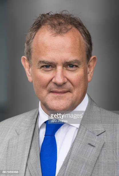 Hugh Bonneville attends the Paddington's PopUp London launch at More London on October 19 2017 in London England