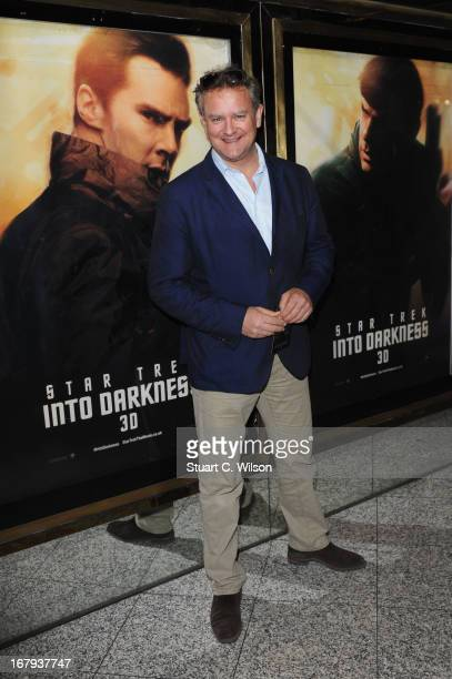 Hugh Bonneville attends the UK Premiere of 'Star Trek Into Darkness' at The Empire Cinema on May 2 2013 in London England