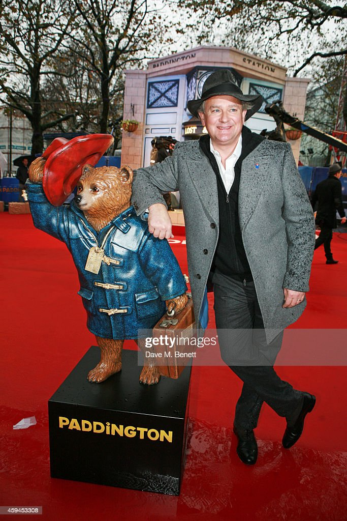 Hugh Bonneville attends the World Premiere of 'Paddington' at Odeon Leicester Square on November 23, 2014 in London, England.